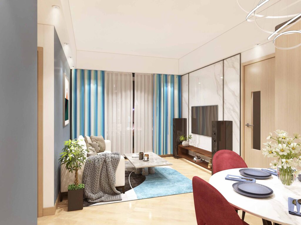 S-Living & Dining Area 1